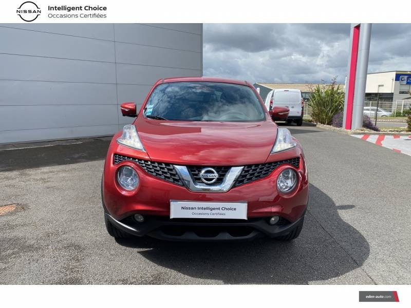 Nissan Juke 1.5 dCi 110 FAP Start/Stop System Connect Edition Rouge occasion à Chauray - photo n°2