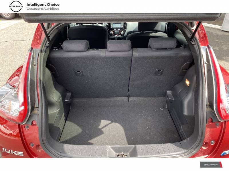 Nissan Juke 1.5 dCi 110 FAP Start/Stop System Connect Edition Rouge occasion à Chauray - photo n°15