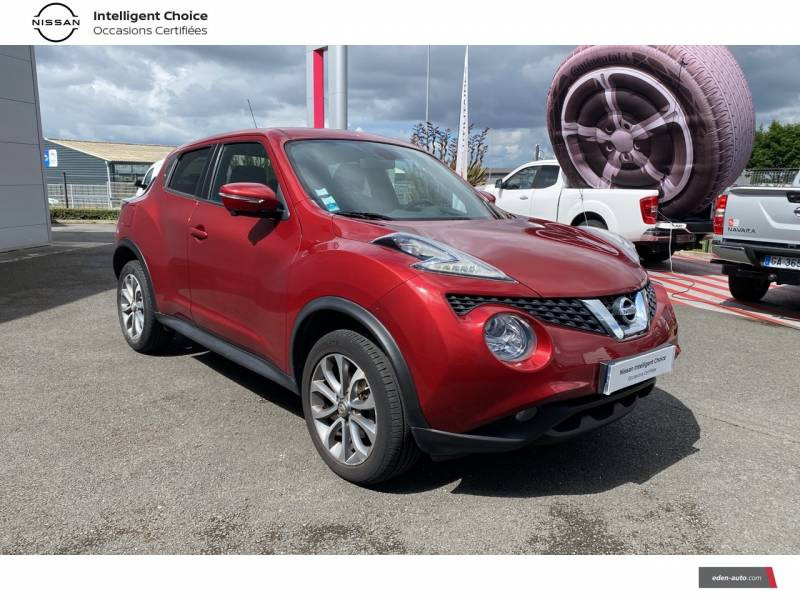 Nissan Juke 1.5 dCi 110 FAP Start/Stop System Connect Edition Rouge occasion à Chauray - photo n°16