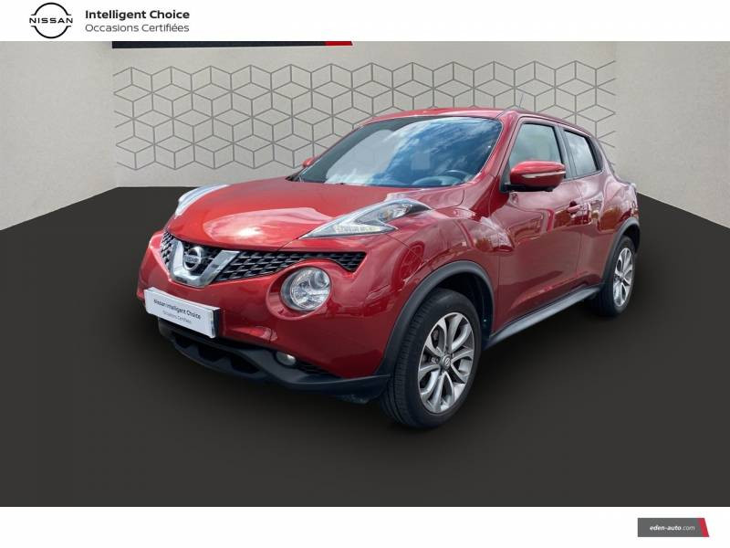 Nissan Juke 1.5 dCi 110 FAP Start/Stop System Connect Edition Rouge occasion à Chauray