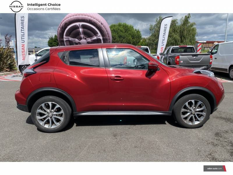Nissan Juke 1.5 dCi 110 FAP Start/Stop System Connect Edition Rouge occasion à Chauray - photo n°8