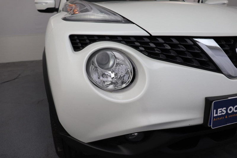 Nissan Juke 1.5 dCi 110 FAP Start/Stop System N-Connecta Blanc occasion à Tourville-la-Rivière - photo n°7