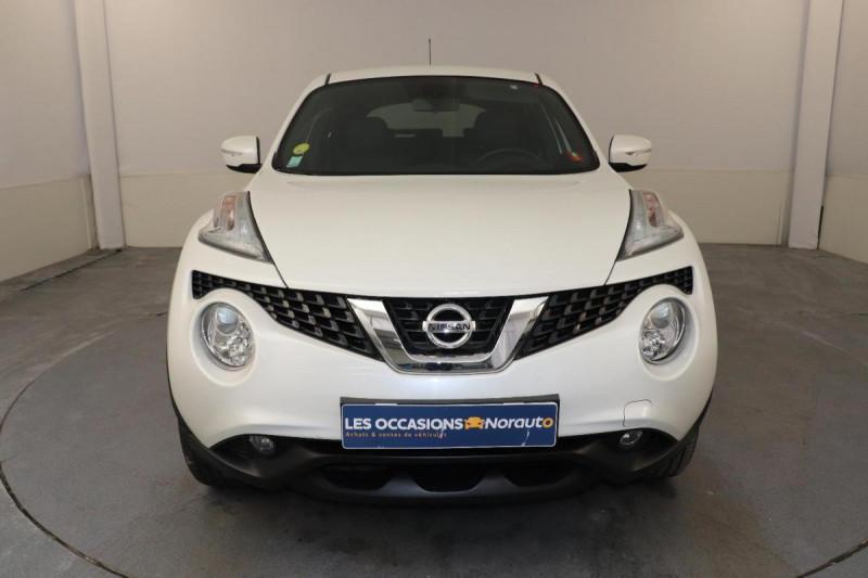 Nissan Juke 1.5 dCi 110 FAP Start/Stop System N-Connecta Blanc occasion à Tourville-la-Rivière - photo n°2