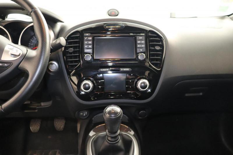 Nissan Juke 1.5 dCi 110 FAP Start/Stop System N-Connecta Blanc occasion à Tourville-la-Rivière - photo n°10