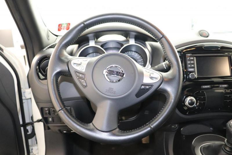 Nissan Juke 1.5 dCi 110 FAP Start/Stop System N-Connecta Blanc occasion à Tourville-la-Rivière - photo n°9