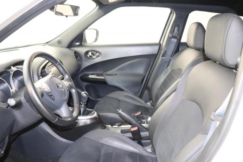 Nissan Juke 1.5 dCi 110 FAP Start/Stop System N-Connecta Blanc occasion à Tourville-la-Rivière - photo n°4