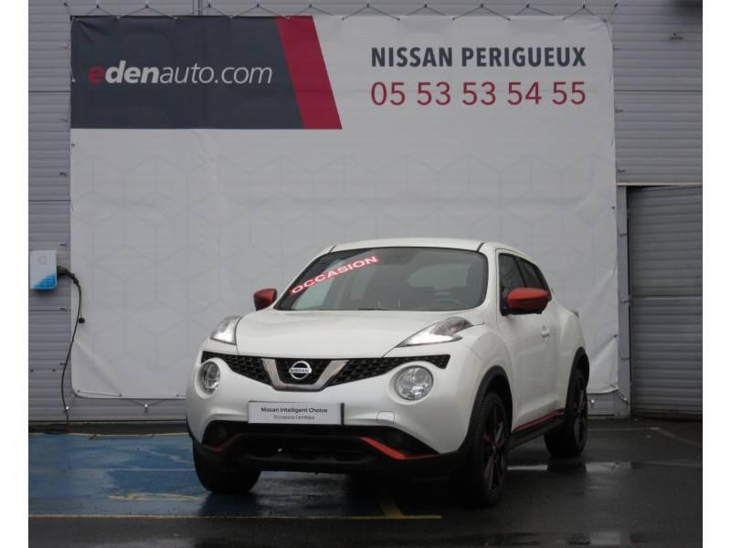 Nissan Juke 1.5 dCi 110 FAP Start/Stop System N-Connecta Blanc occasion à Périgueux