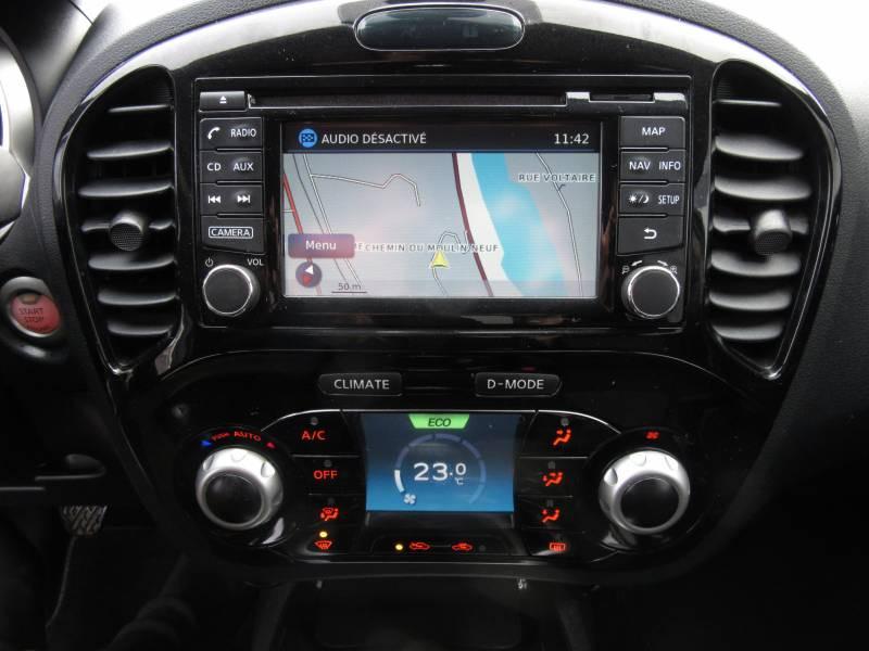 Nissan Juke 1.5 dCi 110 FAP Start/Stop System N-Connecta Blanc occasion à Périgueux - photo n°10