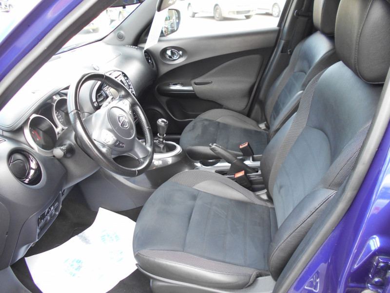 Nissan Juke 1.5 dCi 110 FAP Start/Stop System N-Connecta Bleu occasion à Bessières - photo n°7