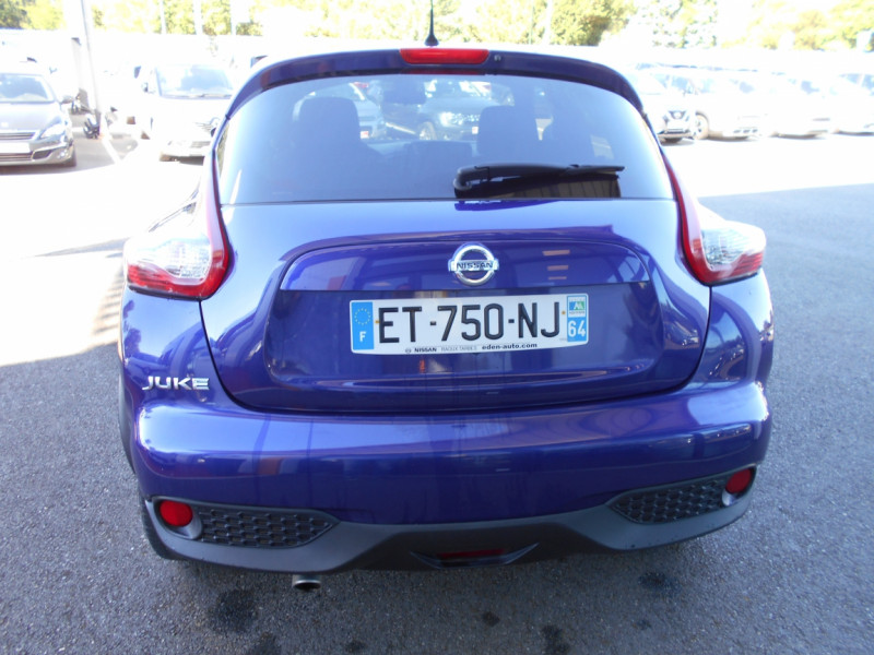 Nissan Juke 1.5 dCi 110 FAP Start/Stop System N-Connecta Bleu occasion à Bessières - photo n°9
