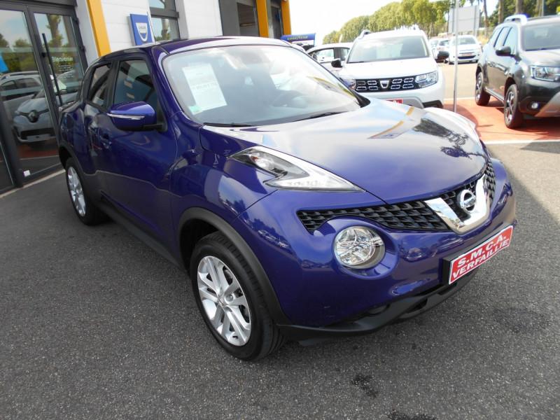 Nissan Juke 1.5 dCi 110 FAP Start/Stop System N-Connecta Bleu occasion à Bessières - photo n°6