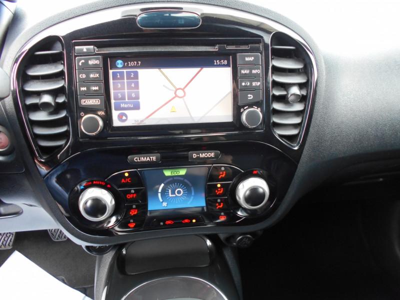 Nissan Juke 1.5 dCi 110 FAP Start/Stop System N-Connecta Bleu occasion à Bessières - photo n°10