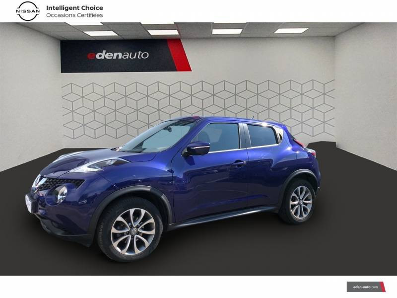 Nissan Juke 1.5 dCi 110 FAP Start/Stop System Tekna Bleu occasion à Auch