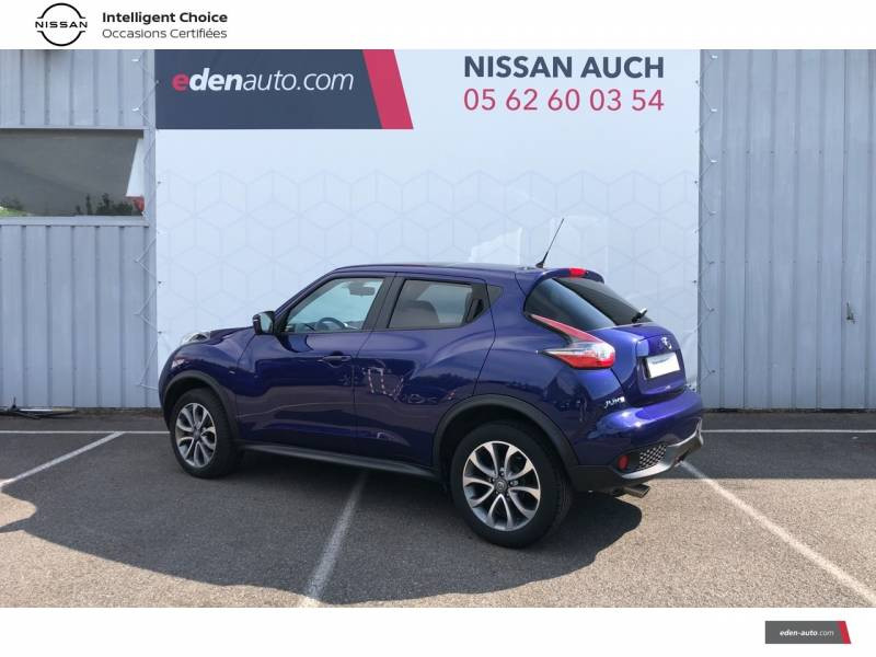 Nissan Juke 1.5 dCi 110 FAP Start/Stop System Tekna Bleu occasion à Auch - photo n°3