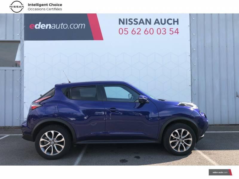 Nissan Juke 1.5 dCi 110 FAP Start/Stop System Tekna Bleu occasion à Auch - photo n°4