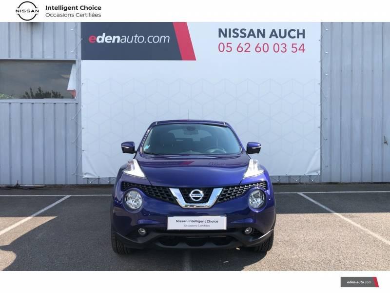 Nissan Juke 1.5 dCi 110 FAP Start/Stop System Tekna Bleu occasion à Auch - photo n°5