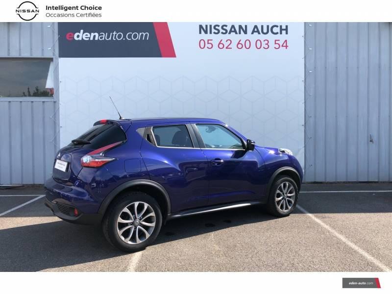 Nissan Juke 1.5 dCi 110 FAP Start/Stop System Tekna Bleu occasion à Auch - photo n°17