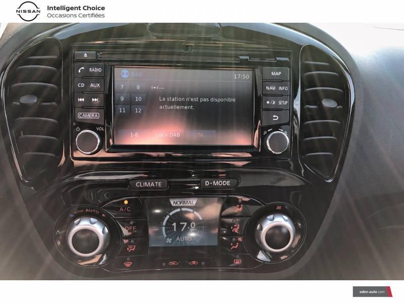 Nissan Juke 1.5 dCi 110 FAP Start/Stop System Tekna Bleu occasion à Auch - photo n°8