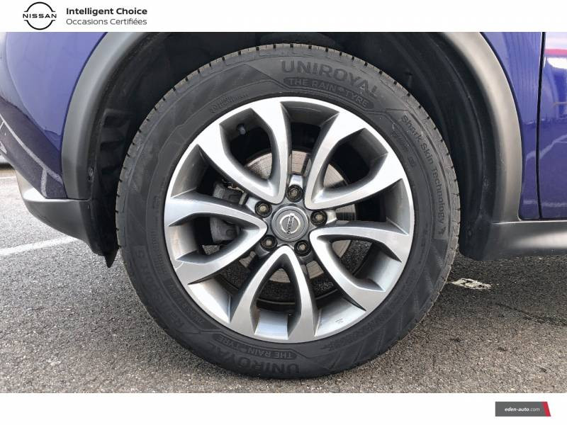 Nissan Juke 1.5 dCi 110 FAP Start/Stop System Tekna Bleu occasion à Auch - photo n°15