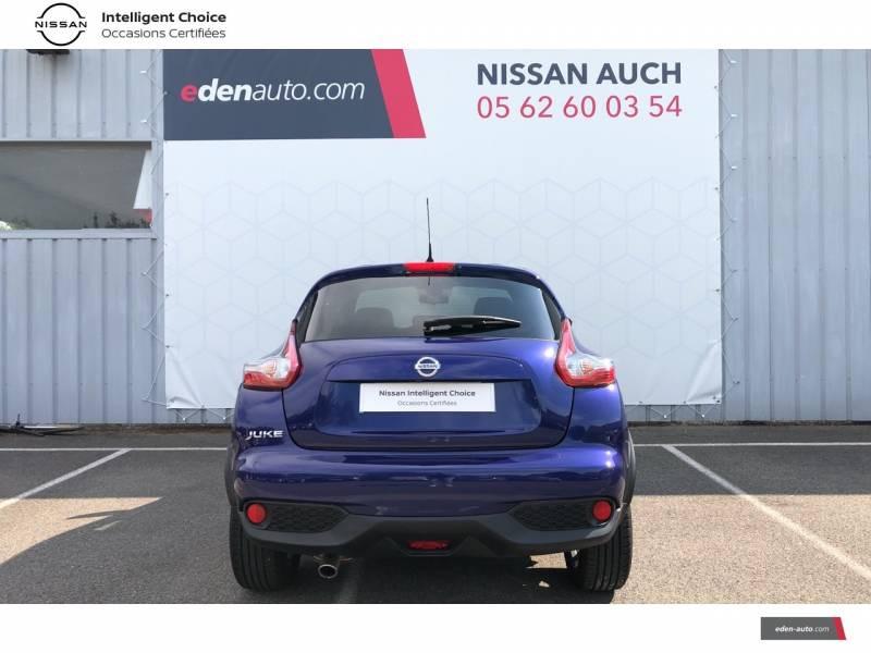 Nissan Juke 1.5 dCi 110 FAP Start/Stop System Tekna Bleu occasion à Auch - photo n°13