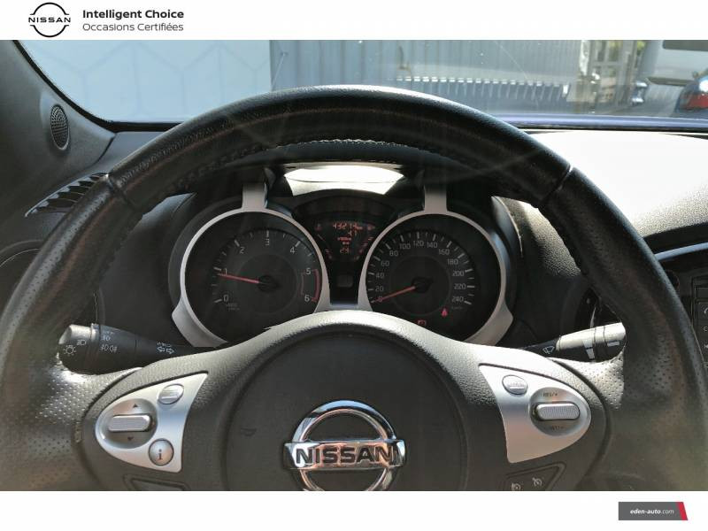 Nissan Juke 1.5 dCi 110 FAP Start/Stop System Tekna Bleu occasion à Auch - photo n°9