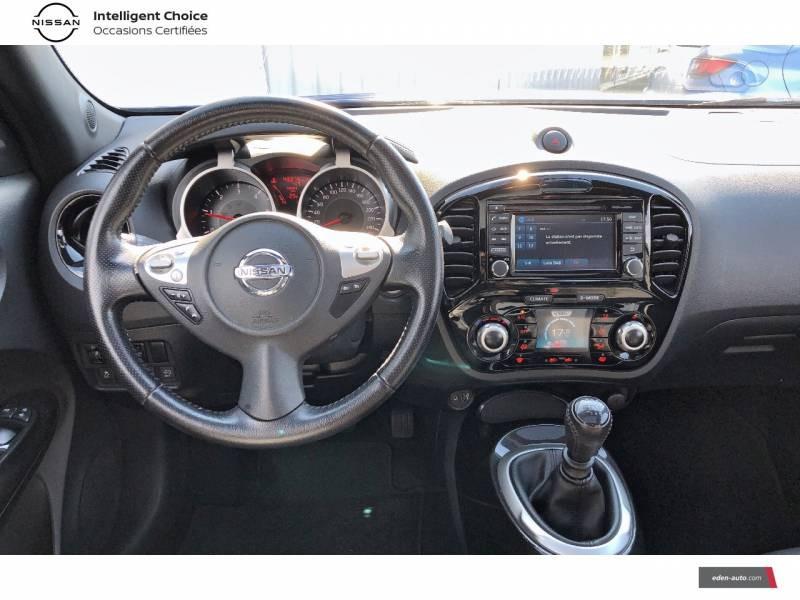 Nissan Juke 1.5 dCi 110 FAP Start/Stop System Tekna Bleu occasion à Auch - photo n°6