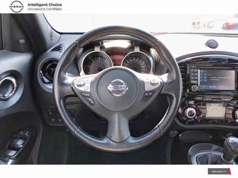 Nissan Juke 1.5 dCi 110 FAP Start/Stop System Tekna Bleu occasion à Auch - photo n°7