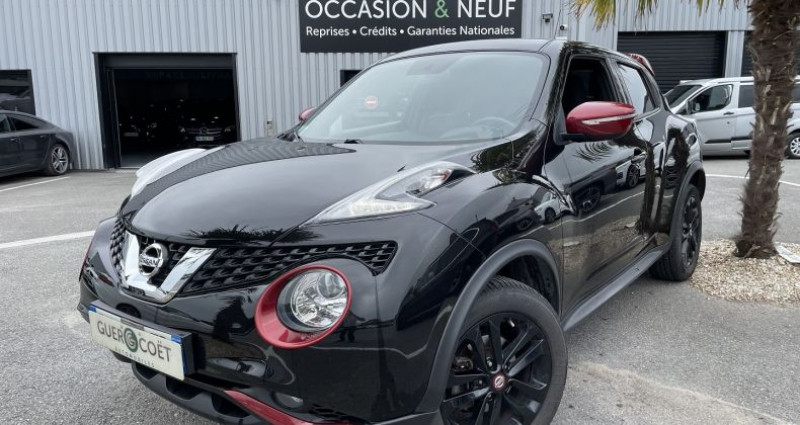 Nissan Juke 1.5 DCI 110CH DESIGN EDITION Noir occasion à GUER