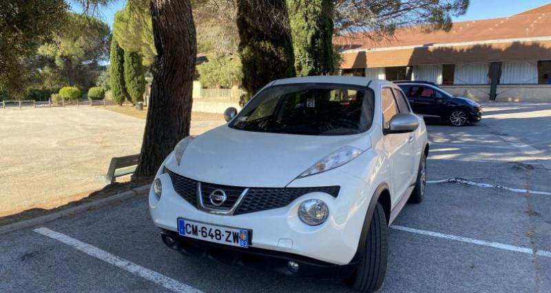 Nissan Juke 1.5 DCI 110CH FAP ACENTA Blanc occasion à Sainte-Maxime
