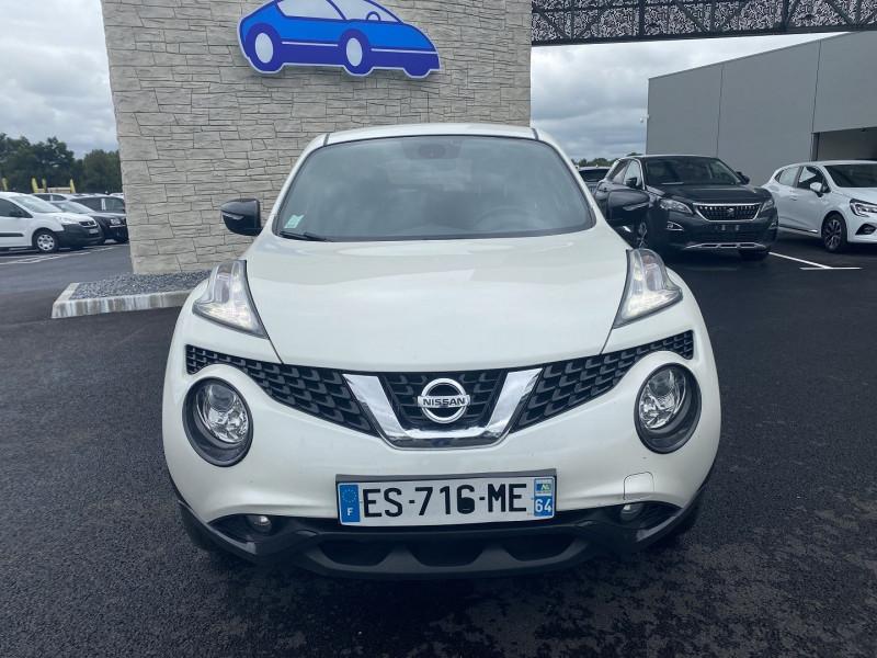 Nissan Juke 1.5 DCI 110CH N-CONNECTA Blanc occasion à Serres-Castet - photo n°6