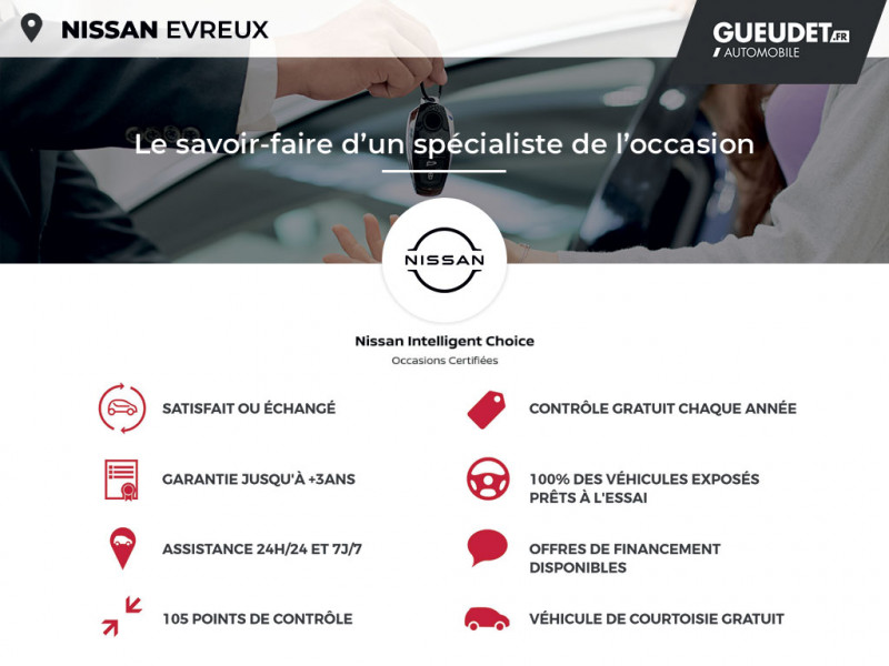 Nissan Juke 1.5 dCi 110ch N-Connecta Gris occasion à Évreux - photo n°17