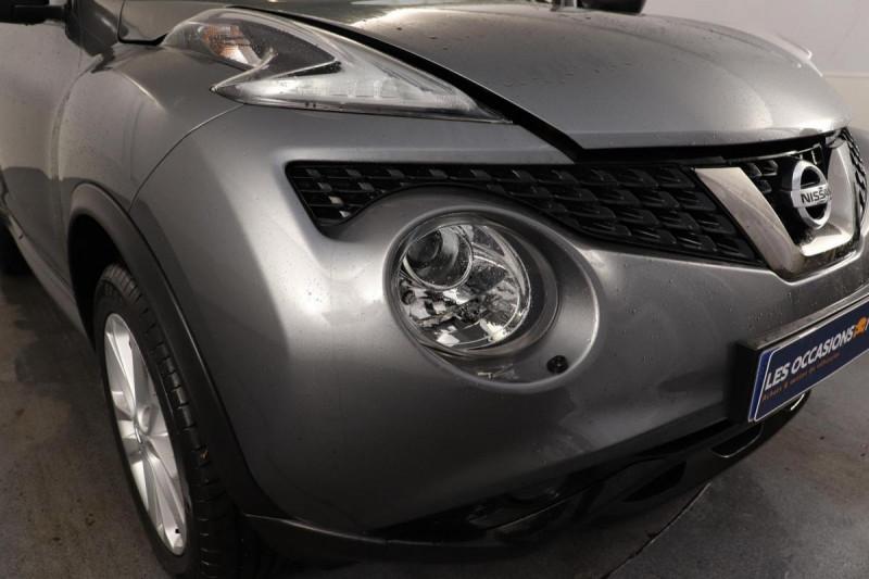 Nissan Juke 1.5 DCI110 N-CONNECTA Gris occasion à Vélizy-Villacoublay - photo n°8