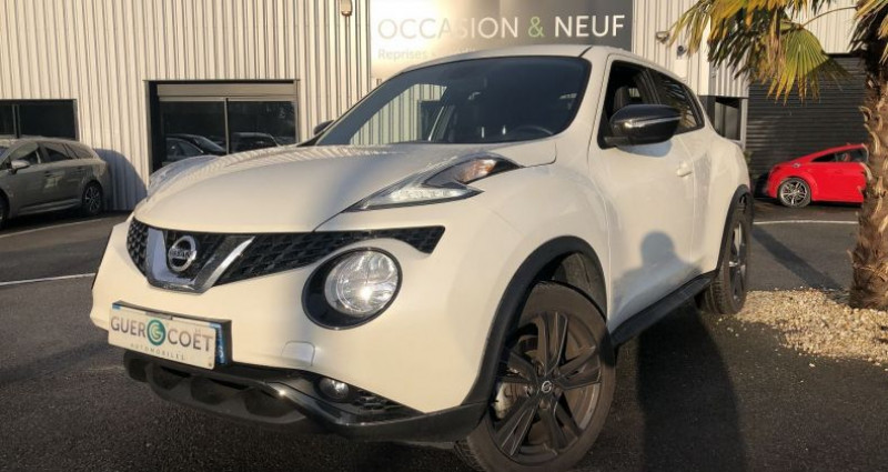 Nissan Juke 1.6 DIG-T 190CH N-CONNECTA Blanc occasion à GUER