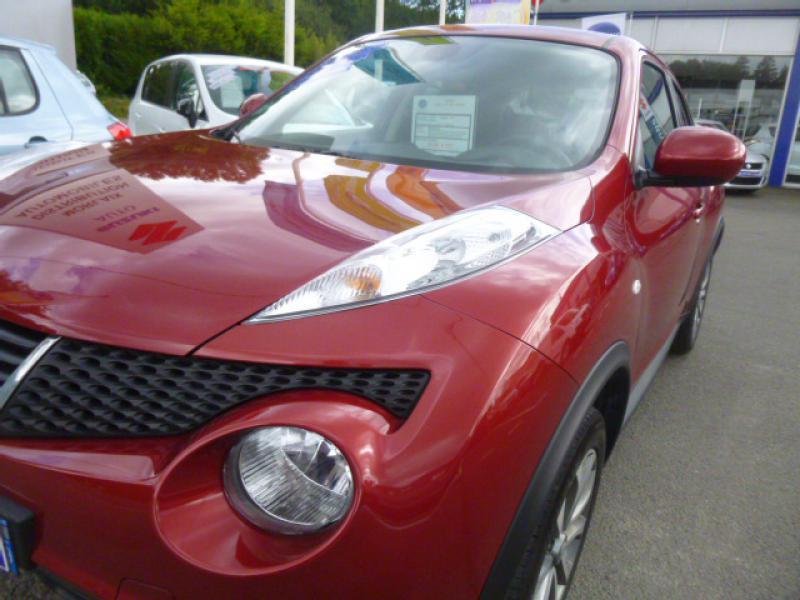 Nissan Juke 110  DCI  S&S  TECHNA Rouge occasion à Morlaix - photo n°5