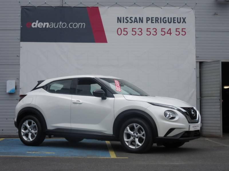 Nissan Juke DIG-T 117 Acenta Blanc occasion à Périgueux - photo n°7