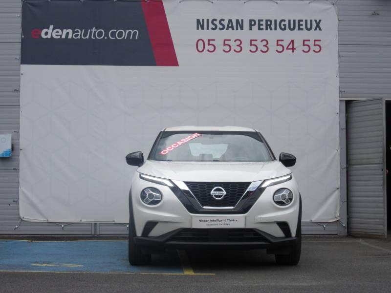 Nissan Juke DIG-T 117 Acenta Blanc occasion à Périgueux - photo n°8