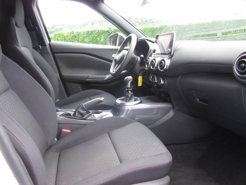 Nissan Juke DIG-T 117 Acenta Blanc occasion à Périgueux - photo n°9