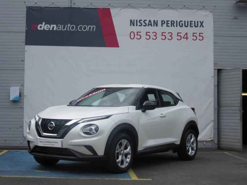 Nissan Juke DIG-T 117 Acenta Blanc occasion à Périgueux