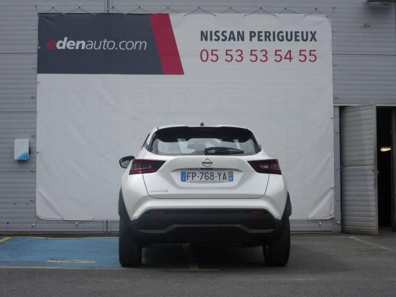 Nissan Juke DIG-T 117 Acenta Blanc occasion à Périgueux - photo n°4
