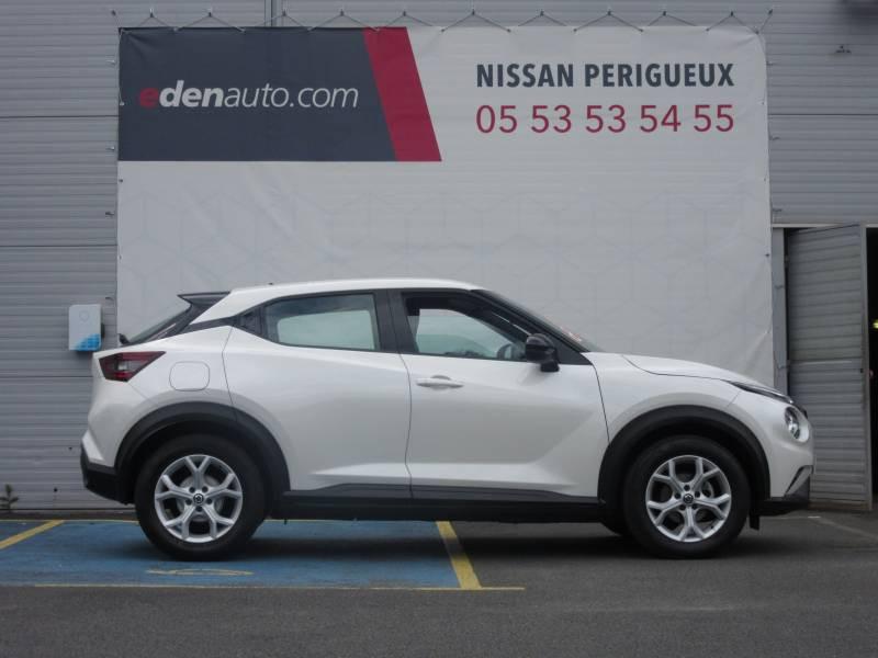 Nissan Juke DIG-T 117 Acenta Blanc occasion à Périgueux - photo n°6