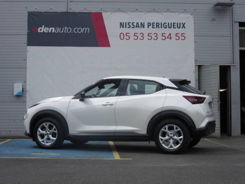 Nissan Juke DIG-T 117 Acenta Blanc occasion à Périgueux - photo n°3