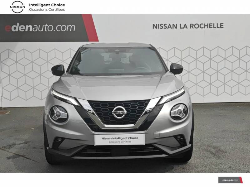 Nissan Juke DIG-T 117 N-Connecta Gris occasion à Angoulins - photo n°2
