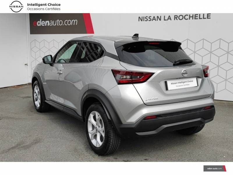 Nissan Juke DIG-T 117 N-Connecta Gris occasion à Angoulins - photo n°7