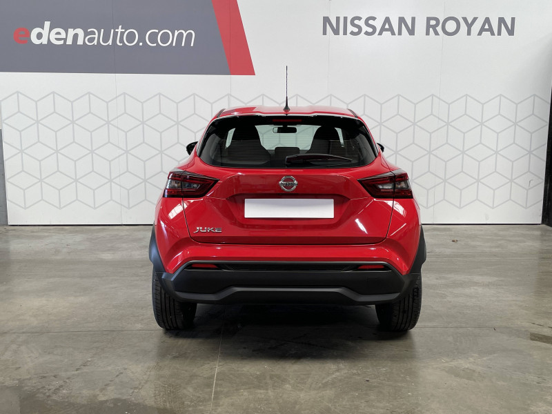 Nissan Juke Juke DIG-T 114 Acenta 5p Rouge occasion à Royan - photo n°4
