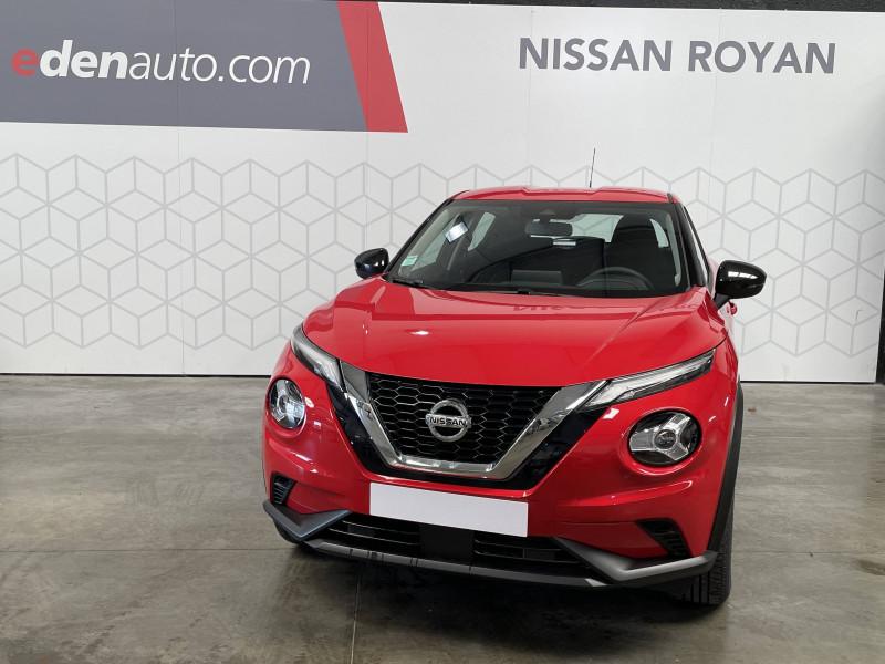 Nissan Juke Juke DIG-T 114 Acenta 5p Rouge occasion à Royan - photo n°2