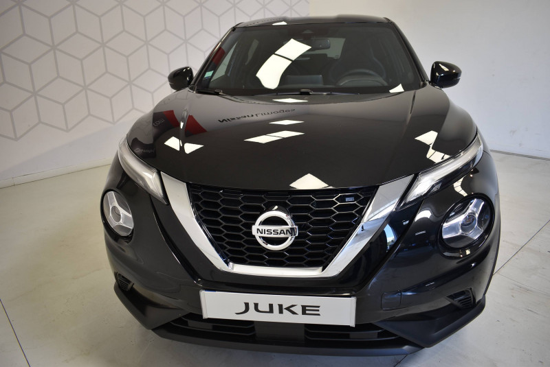 Nissan Juke Juke DIG-T 117 DCT7 N-Connecta 5p Noir occasion à Limoges - photo n°4