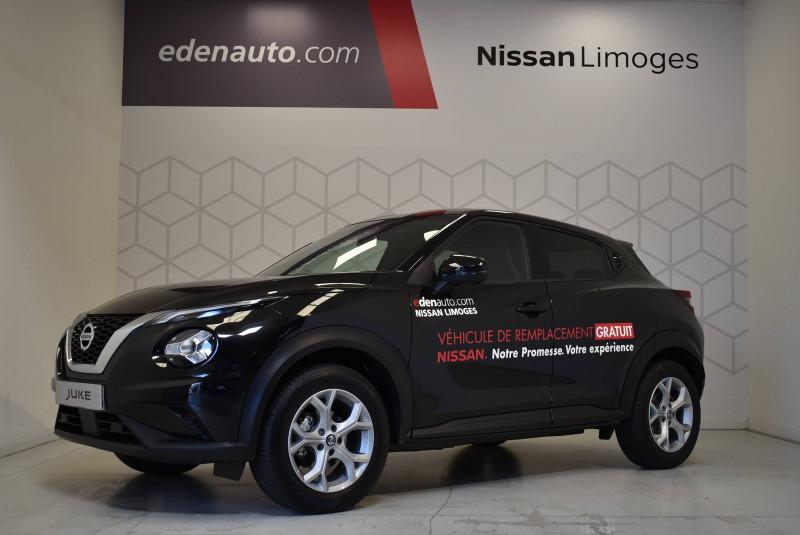 Nissan Juke Juke DIG-T 117 DCT7 N-Connecta 5p Noir occasion à Limoges