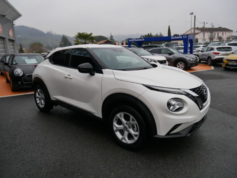 Nissan Juke NEW 1.0 DIG-T 117 DCT N-CONNECTA GPS Full LED Caméra Keyless Blanc occasion à Toulouse - photo n°9
