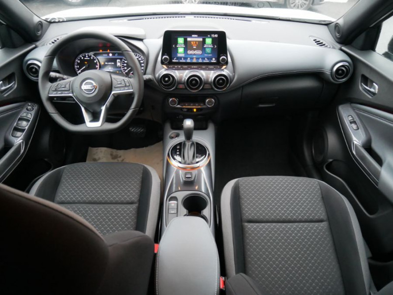 Nissan Juke NEW 1.0 DIG-T 117 DCT N-CONNECTA GPS Full LED Caméra Keyless Blanc occasion à Toulouse - photo n°11