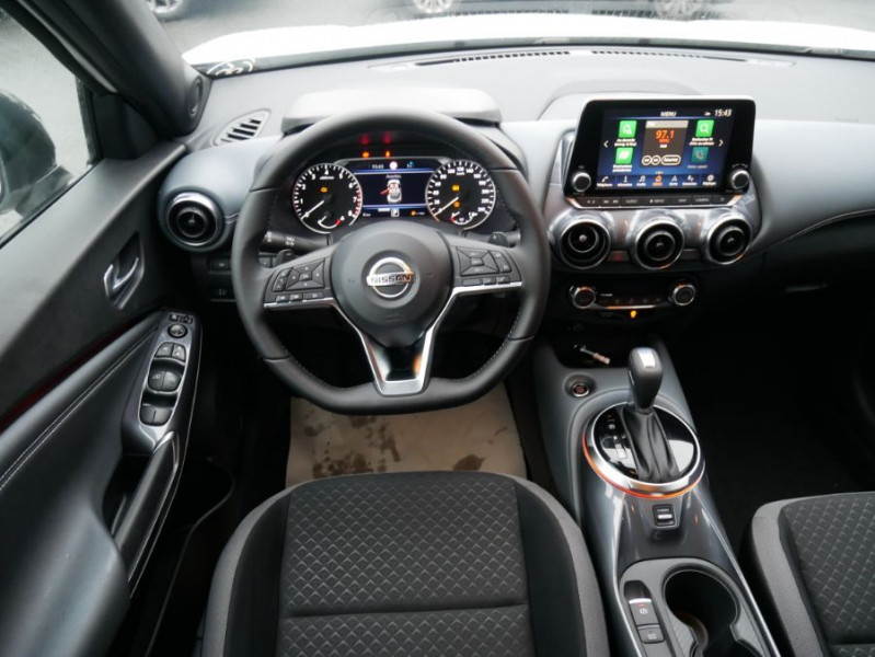 Nissan Juke NEW 1.0 DIG-T 117 DCT N-CONNECTA GPS Full LED Caméra Keyless Blanc occasion à Toulouse - photo n°12
